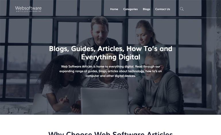Web Software Articles