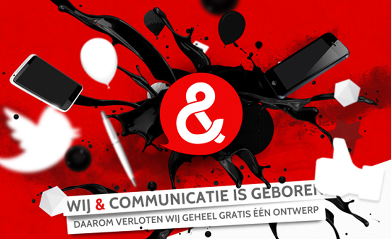 Wij & Communicatie Launch Page