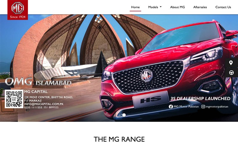 MG Motors Pakistan