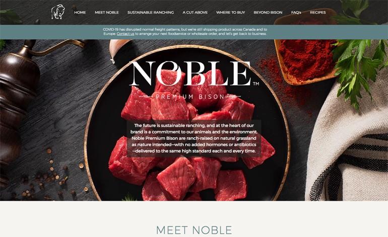 Noble Premium Bison