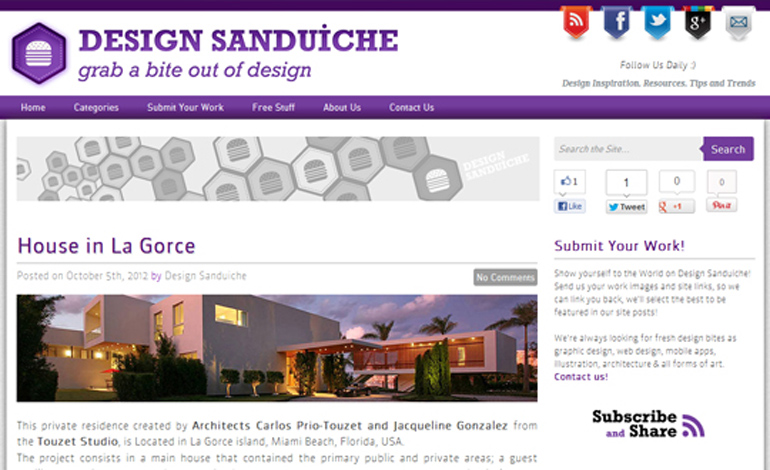 Design Sanduiche