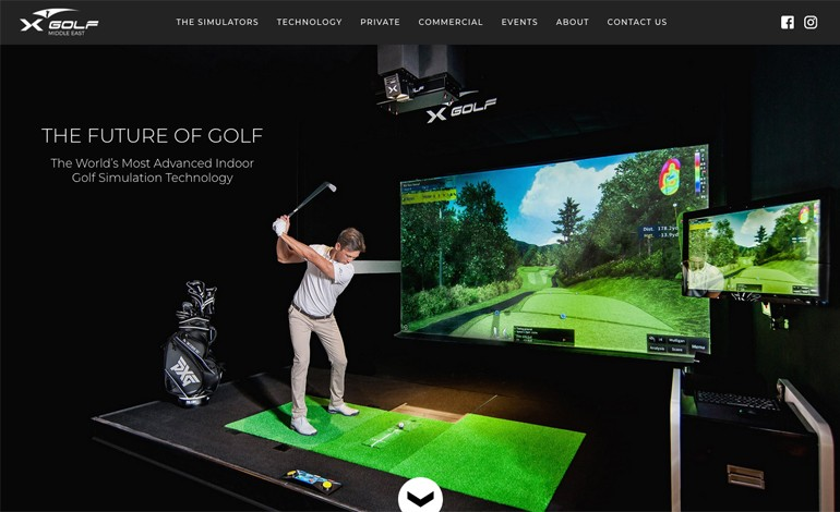 X Golf Middle East