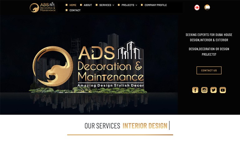ADS Eagles Decoration and Design