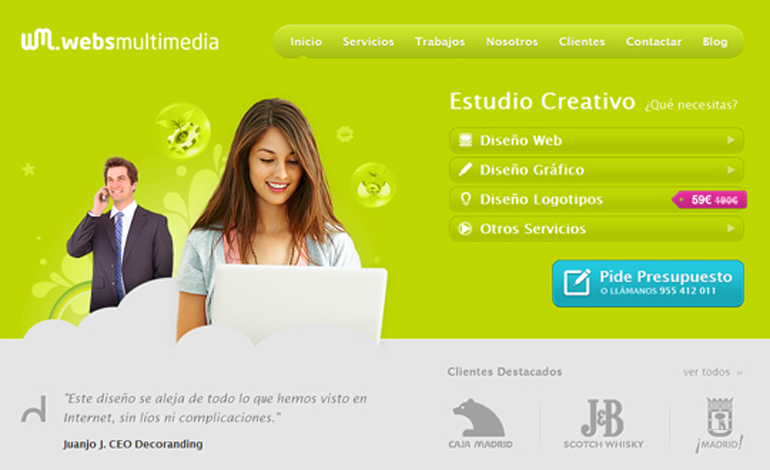 Diseño Web - Websmultimedia