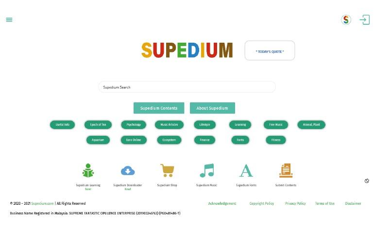 Supedium