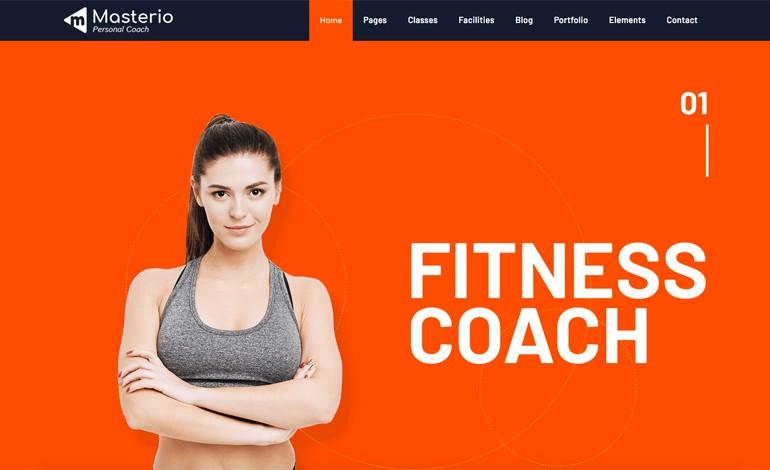 Masterio Lite Fitness Gym WordPress Theme Free Download