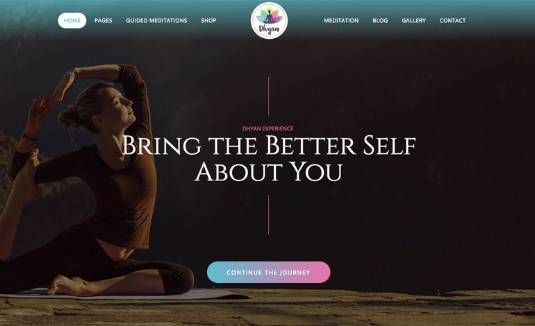 Dhyan Lite Yoga WordPress Theme Free Download
