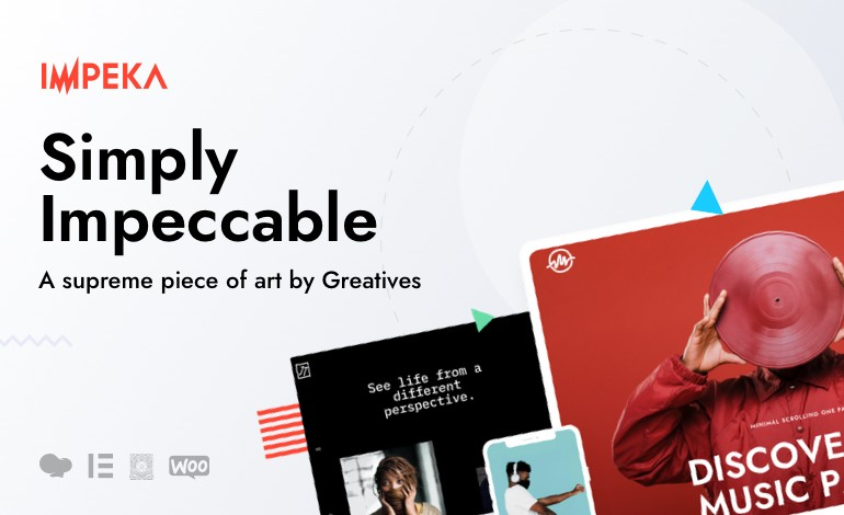 Impeka  Creative Multipurpose WordPress Theme