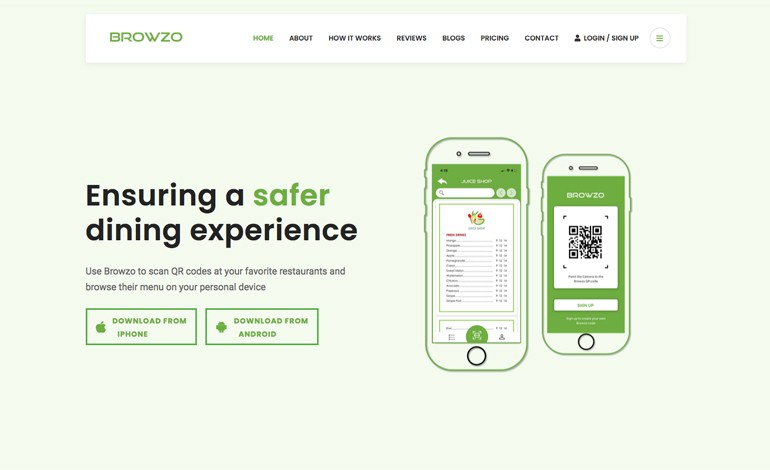 Browzo app