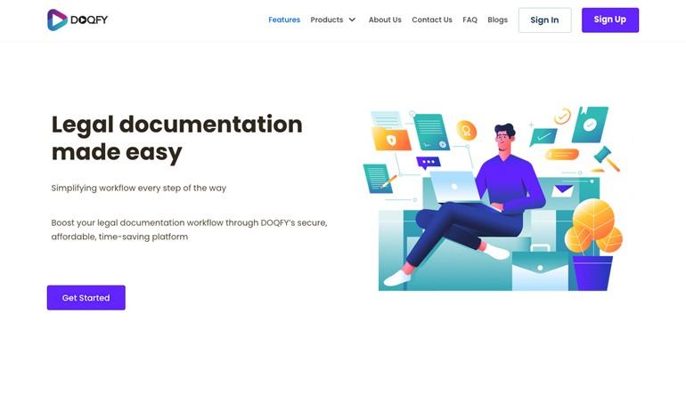 Doqfy Legal Documentation