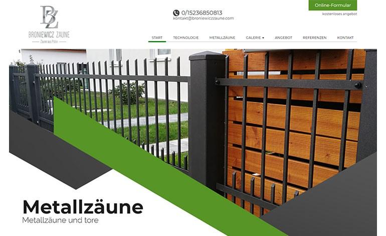 Broniewicz Zaune