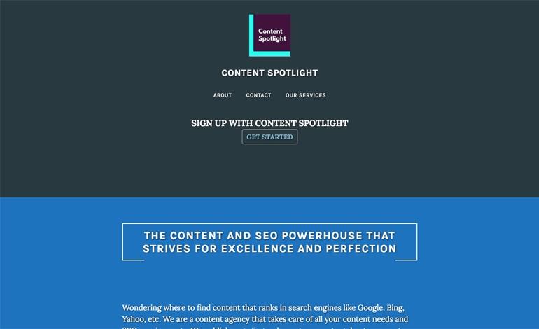 Content Spotlight