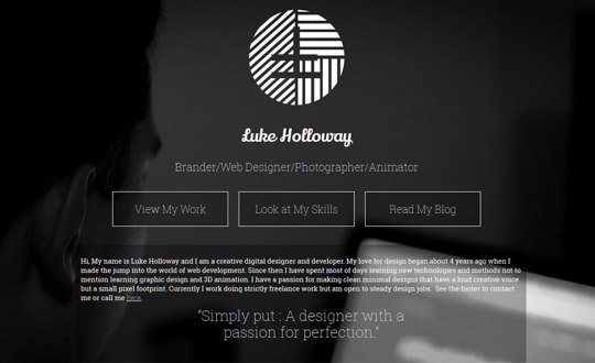 Luke Holloway Creative Designer