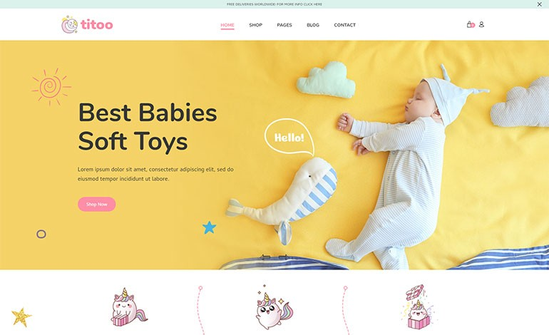 Titoo  Shopify Kids Store