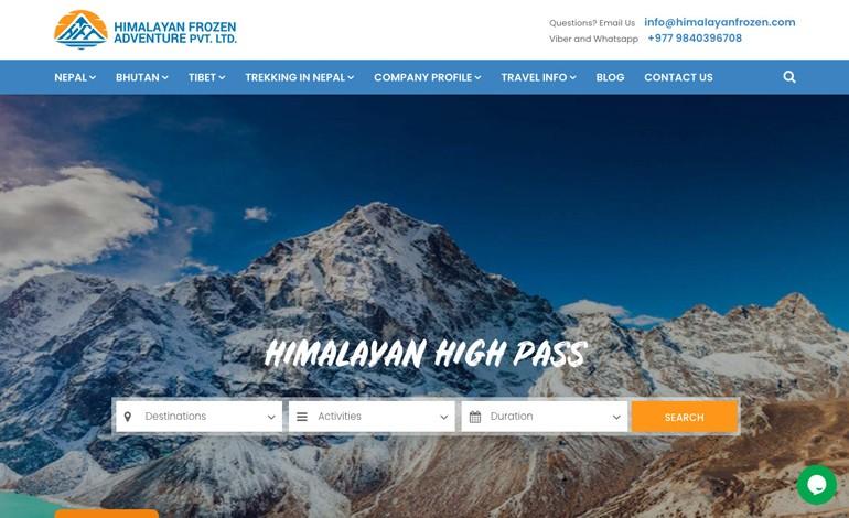 Himalayan Frozen