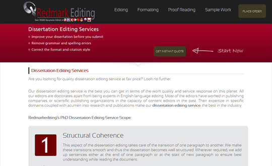 Dissertation proofreading services and editing uk