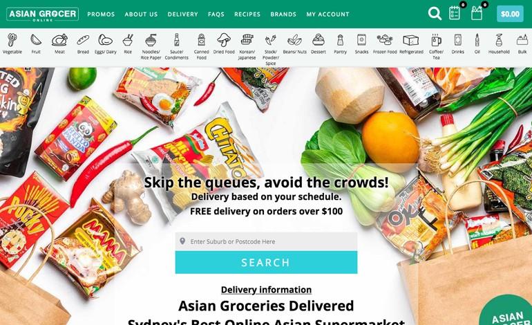 Asian Grocer Online