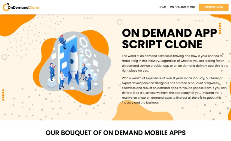 On Demand App Clone