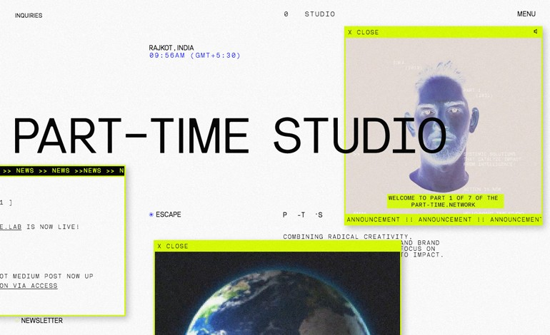 part time studio