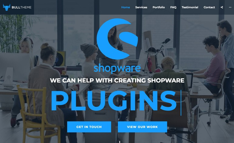 Shopware BullTheme