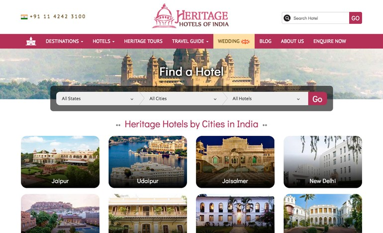 Heritage Hotels of India