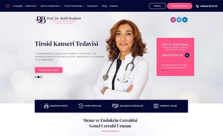 Genel Cerrahi Uzmani Betul Bozkurt