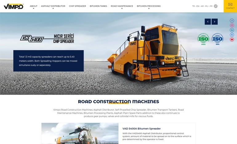 Vimpo Road Construction Machines