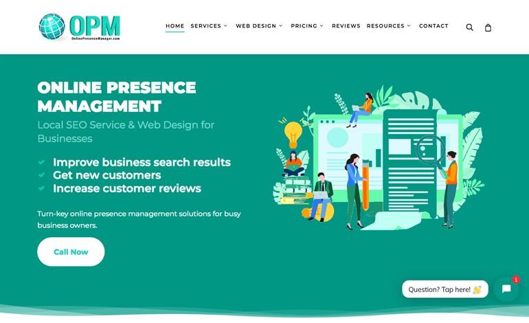 Online Presence Manager Inc