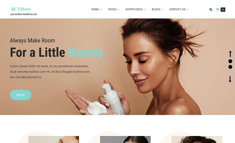 Tiffany Responsive WordPress Theme