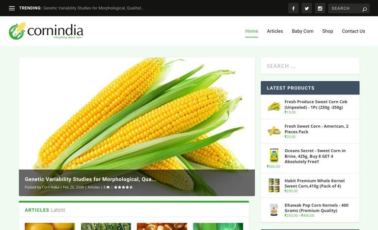 Corn India