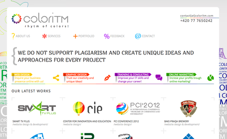 COLORITM | Web Design & Web Solutions