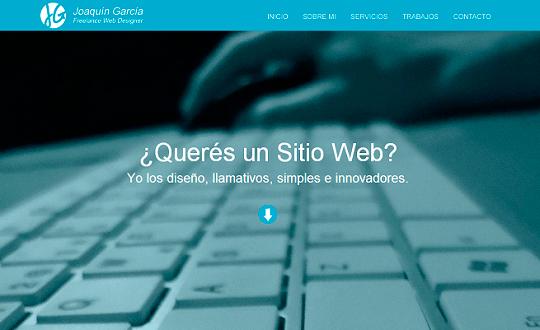 Joaquín García Diseño Web