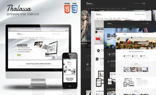Thalssa Extensive HTML5 Template