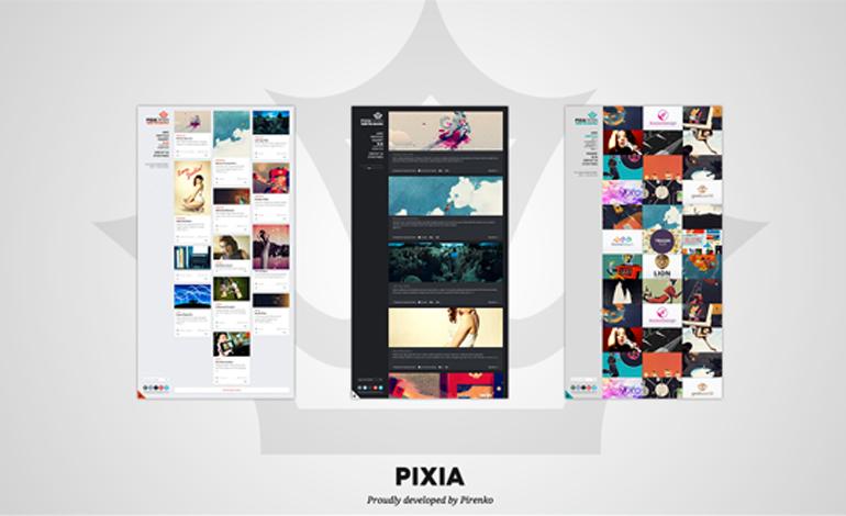 Pixia Wordpress Theme