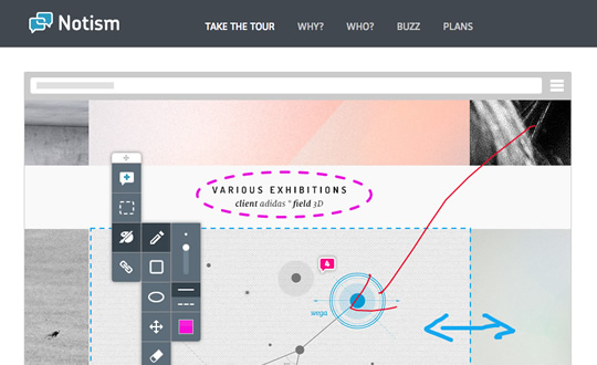 Notism Design Collaboration