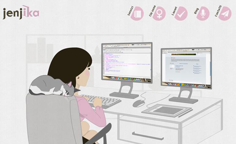Jessica Lussu | jenjika | Web designer