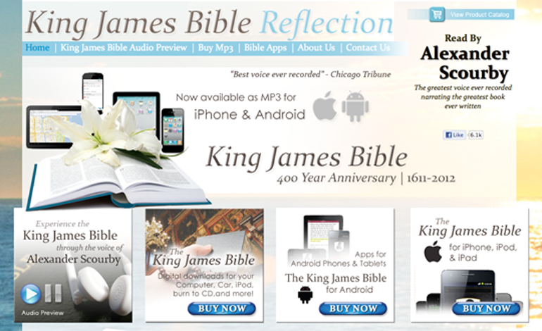 King James Bible Reflection