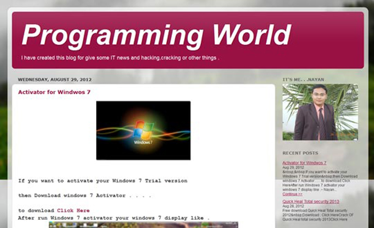 programming world