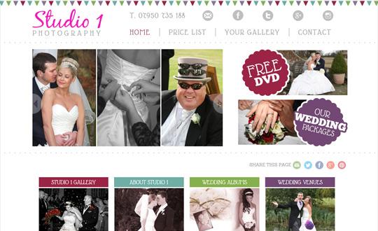 Studio 1 Wedding Photographer