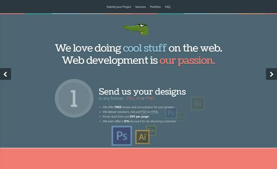 PSD to HTML and WordPress Theme development