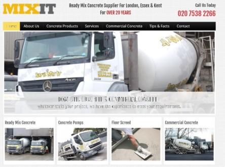 MixIt A Concrete Supplier London