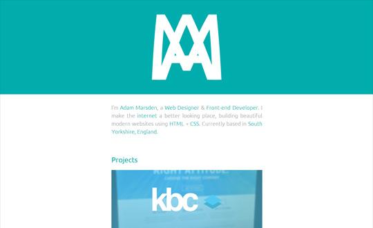 Adam Marsden Web Designer