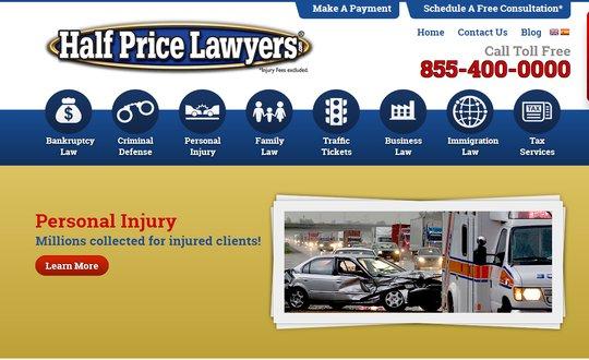 Half Price Lawyers Las Vegas