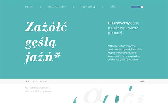 Polish diacritical marks.