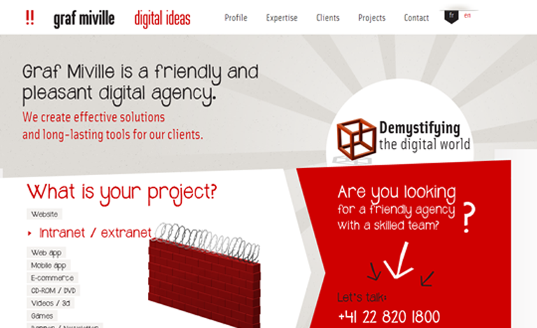 Graf Miville - digital agency