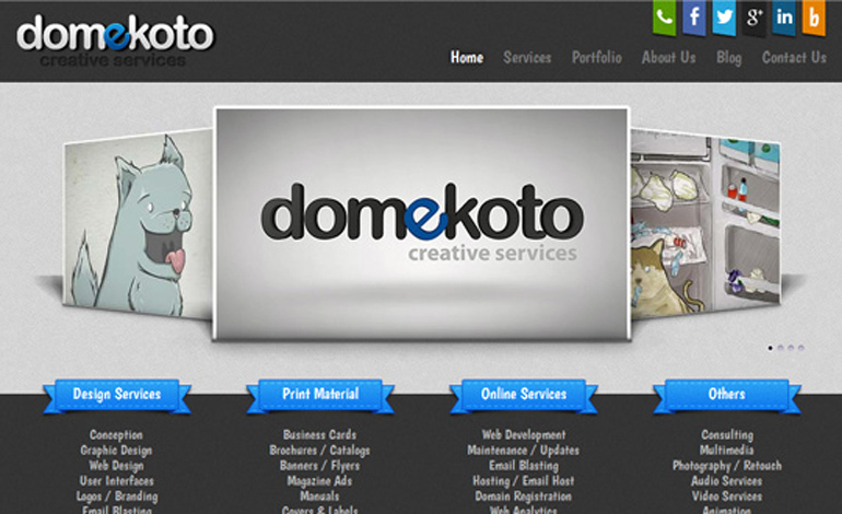 Domekoto | Creative Services