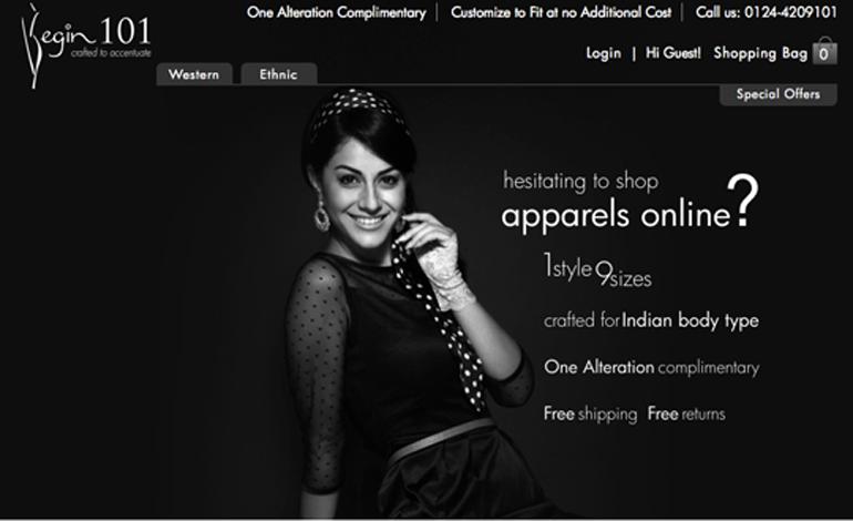 Begin 101 - Fashion Wear for Indian Women