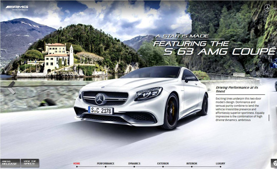 S63 AMG Coupe Webspecial