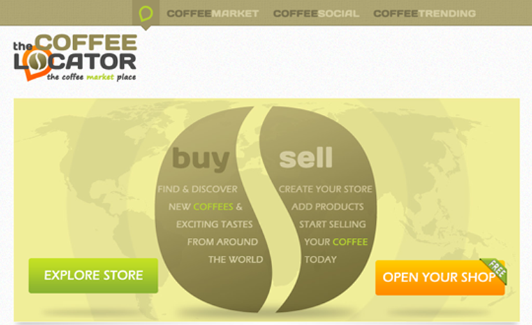 The Coffee Locator