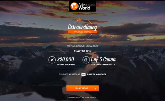 Extraordinary World Trivia Adventure World